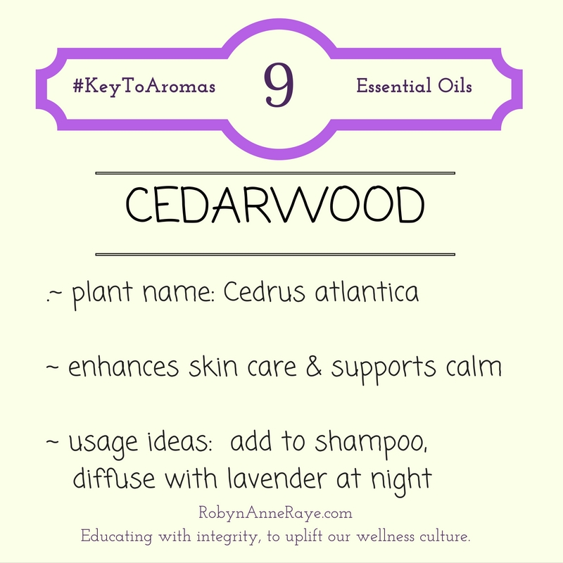 cedarwood young living essential oil