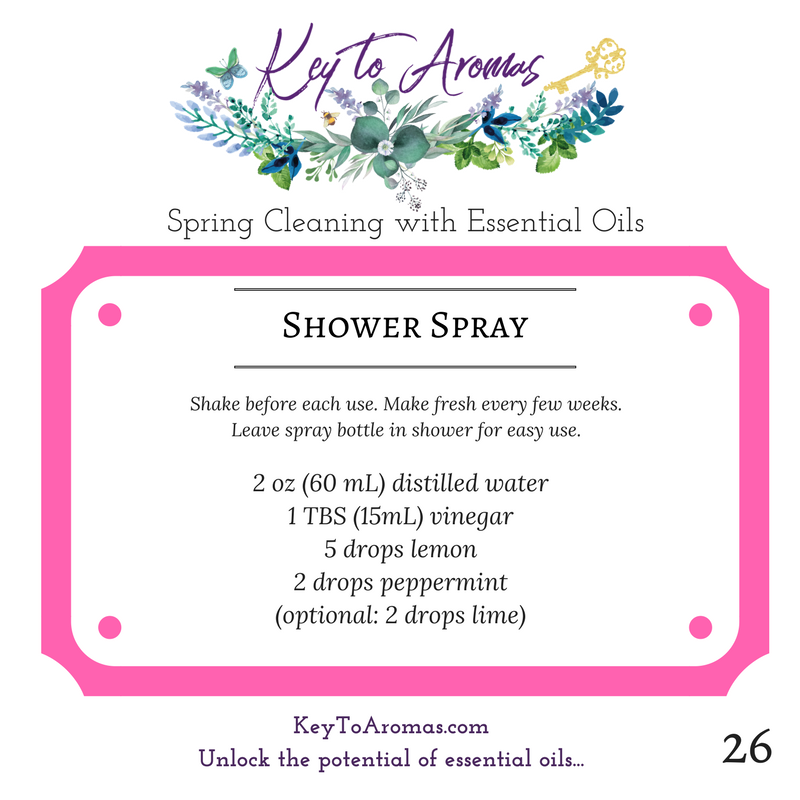 shower spray